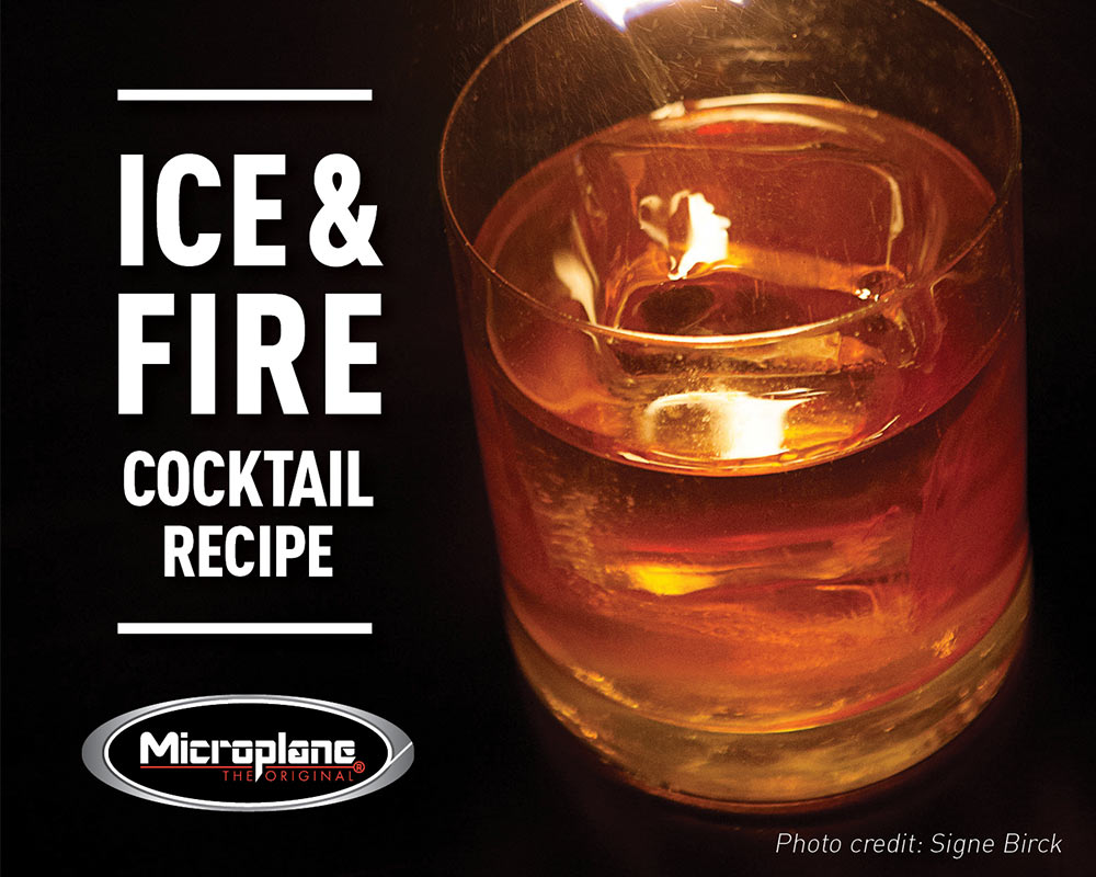 Ice and Fire Drink Recipe from Betony