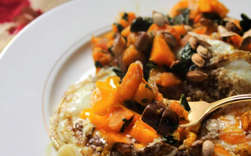Butternut Squash Breakfast Hash Recipe