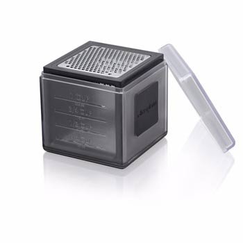 Cube Cheese Grater- Black