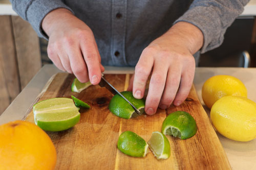 lime garnishes