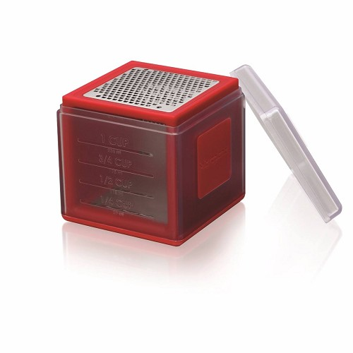 Cube Cheese Grater- Red