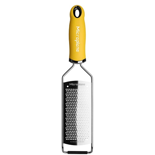 Gourmet Series Fine Cheese Grater - Yellow
